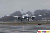 Melihat Uji Coba Penerbangan Perdana Boeing 777X Terbaru
