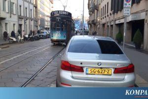 Milan, Kota dengan Jalanan Sempit, Tanpa JPO, dan Masih Eksisnya Trem