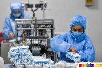 Virus Corona Menyebar, China Tambah Produksi Masker dan Baju Pelindung
