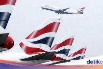 Corona Bikin British Airways Batalkan Semua Penerbangan ke China