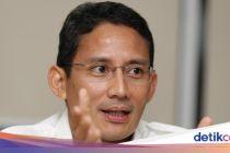 Pesan Sandiaga ke Erick yang 100 Hari Jabat Menteri BUMN