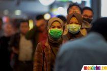 Cegah Virus Corona, KAI Bagikan Masker untuk Penumpang