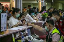 Pulangkan Turis Cina, Ruangan Bancara Batam Disemprot Disinfektan