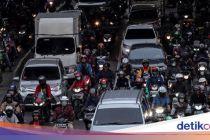 Jakarta Kota Termacet Ke-10 di Dunia, Lancar Saat Lebaran