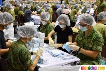 Antisipasi Virus Corona, Singapura Siapkan Masker Untuk Warganya