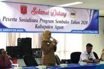 Terungkap Dalam Sosialisasi Program Sembako, Jumlah Bantuan Naik