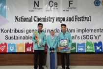 UNS Sabet Juara 1 di Ajang National Chemistry Expo and Festival