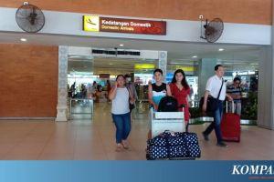 Kondisi Bandara Ngurah Rai Bali Terpantau Sepi