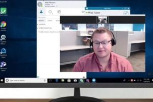 Cara mengubah foto profil di Skype melalui komputer dan HP