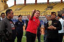 Ketua PSSI Tinjau Fasilitas Piala Dunia U 20 di Yogyakarta
