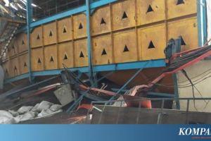 Bangunan Pabrik Kelapa Sawit di Maluku Tengah Rusak akibat Gempa