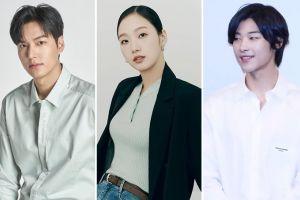 Lee Min Ho, Kim Go Eun dan Woo Do Hwan Adu Keren Syuting 'The King: The Eternal Monarch'