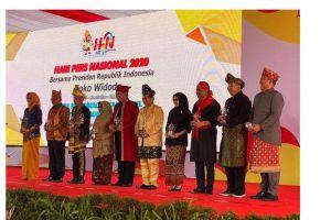 Di Hari Pers Nasional, Enam Bupati Terima Anugerah Kebudayaan 2020