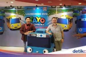 Banyak Permintaan, Serial 'Tayo' Hadir dalam DVD