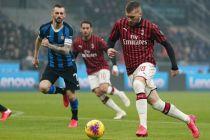 Babak I Inter Milan vs AC Milan: Unggul Berkat Gol Rebic dan Ibra