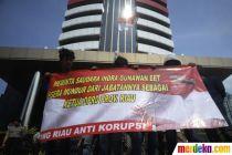 Demo di KPK, Mahasiswa Tuntut Ketua DPRD Riau Mundur dari Jabatan