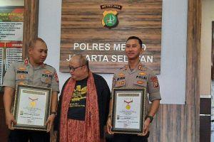 Bongkar Kasus Koboi Kemang, Polisi Polres Jaksel Raih Rekor MURI