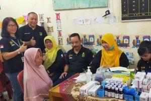 K3 Kemnaker Berikan Pemeriksaan Kesehatan Gratis di Kayu Putih