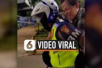 VIDEO: Video Viral Polisi Gendong Bapak Terkena Serangan Jantung