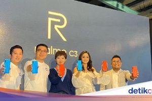 Realme C3 Resmi Dirilis, Ini Harganya di Indonesia