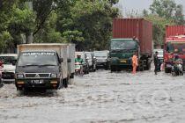 Banjir Jakarta, Daftar Puluhan Titik Jalan di Ibu Kota Tergenang