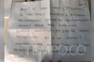 97 Saham Jiwasraya Diduga Terkait Hanson, Benny Tjokro Buka Suara