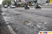 495 Jalan di Jakarta Rusak Akibat Banjir Februari 2020