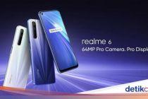 Resmi Dirilis, Ini Spesifikasi Realme 6 dan Realme 6 Pro