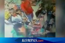Ini Video Viral Oknum Driver Ojol Tampar Kasir Minimarket di Palembang