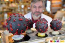 Unik, Ada Telur Paskah Berbentuk Virus Corona di Prancis