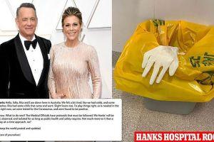 Diposting via Instagram, Terinfeksi Saat Syuting di Australia Tom Hanks Mengaku Positif Corona