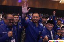 Ekspresi AHY Terpilih Jadi Ketua Umum Partai Demokrat