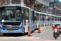 Wabah Virus Corona, 60 Bus Sekolah DKI Jakarta Layani Transportasi Umum