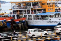 Cegah Corona, Terminal dan Pelabuhan Bali Disemprot DIsinfektan