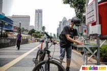 Pemprov DKI Sediakan 12 Unit Tempat Cuci Tangan untuk Lawan Corona