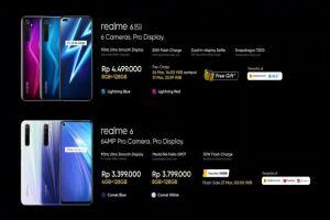 Realme 6 dan Realme 6 Pro Rilis di Indonesia, Cek Harganya