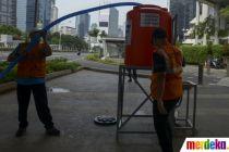 Cegah Corona, Pemprov DKI Sediakan Air Bersih dan Sabun di Tempat Umum