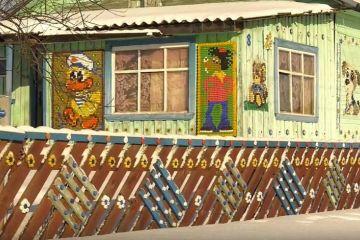 Gambar rumah kartun