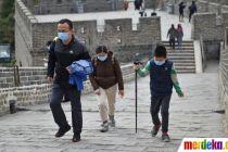 China Sukses Tangani Corona, Tembok Besar Kembali Terima Pengunjung