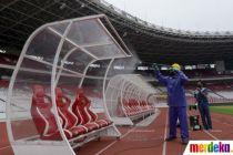 Sterilisasi Stadion GBK untuk Antisipasi Virus Corona