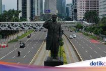Imbas Corona, Tingkat Kemacetan Jakarta Turun Drastis