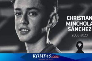 Pemain U14 Atletico Madrid Christian Minchola Meninggal Dunia