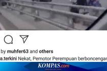 Polisi Selidiki Video Viral Pengendara Motor Melawan Arah di Tol Cempaka Putih