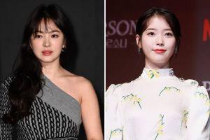 Song Hye Kyo Kepergok Komentari Postingan IU Prank Fans Rayakan April Mop