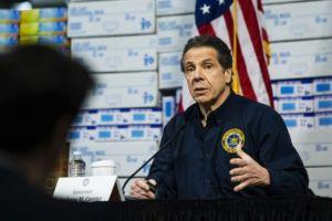 Gubernur New York Sebut Ada Kemungkinan Perataan Kurva Covid-19