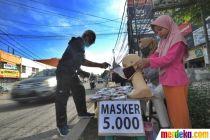 Penjualan Masker Kain Meningkat di Tengah Pandemi Corona