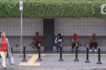 Polda Metro Jaya Bahas Sanksi Pelanggar PSBB di Jakarta