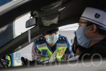 Polda Metro Jaya Patroli Skala Besar Bubarkan Kerumunan Warga