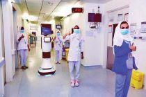 Arab Saudi Gunakan Robot Rawat Pasien Virus Corona di Rumah Sakit