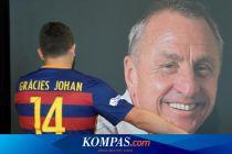 Kutipan Johan Cruyff, Legenda Sepak Bola Barcelona dan Timnas Belanda